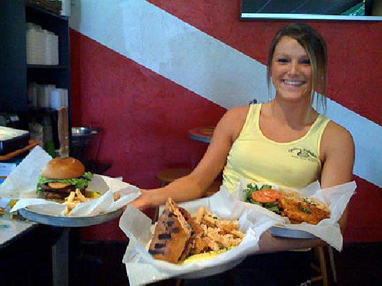 "Quahog Republic Dive Bar: Serving up ""Wicked Good Eats"" until 12:30 daily!"
