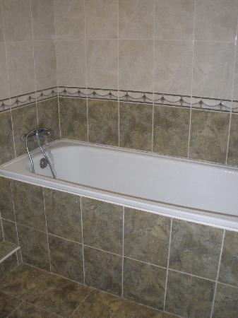 Hotel Zhovtnevy: Badezimmer