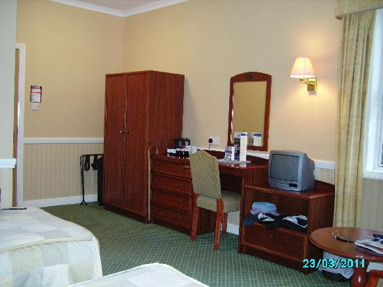Loch Achray Hotel: Plenty of space