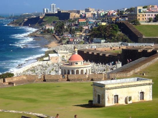 Hotel Lucia Beach Villas: Old San Juan