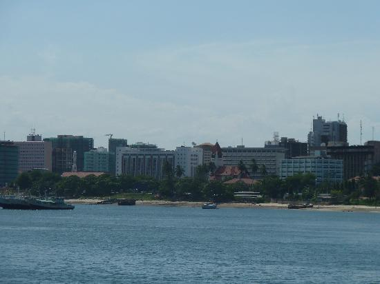 Dar es Salaam, Tanzânia: View from Ferry