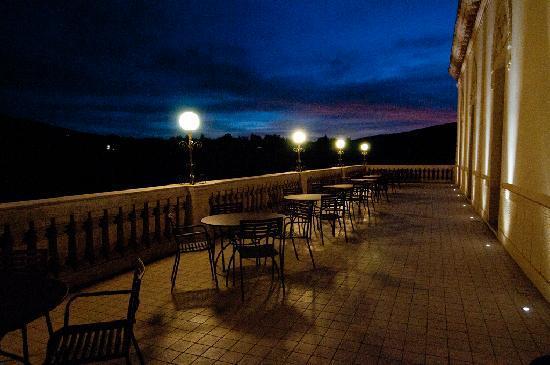 Randazzo, Italie : la terrasse