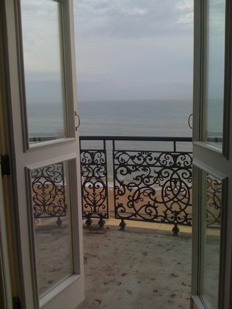 The Grand Brighton : Balcony view