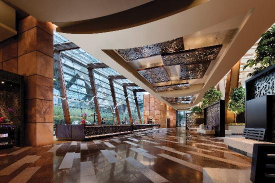 Aria Hotel & Casino: ARIA Resort & Casino - Main Lobby and Front Desk