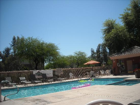 Country Inn & Suites By Carlson, Scottsdale: view of the pool