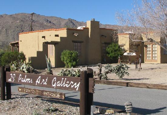 Twentynine Palms, Californie : 29 Palms Art Gallery