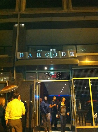 Barcode: entrance