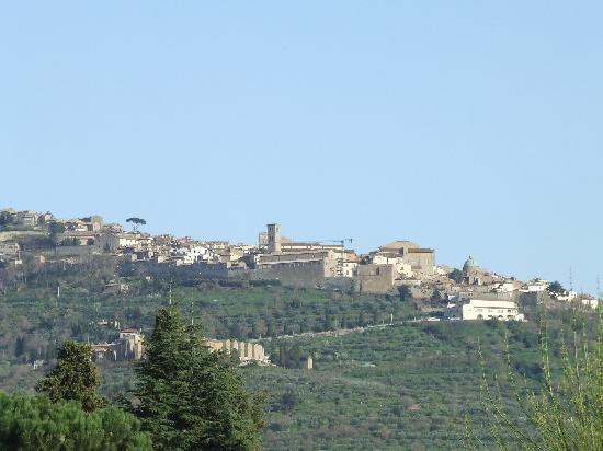 Residence Il Casale: View of Cortona