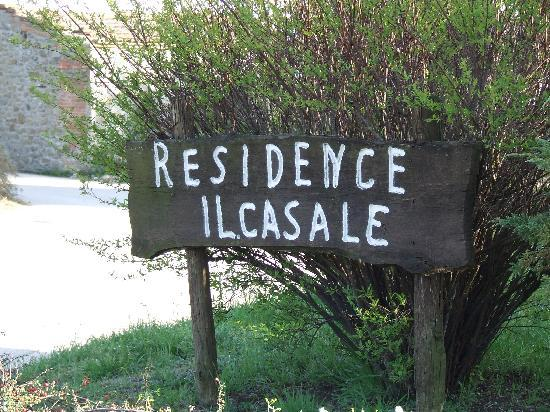 Residence Il Casale: Sign at the entrance