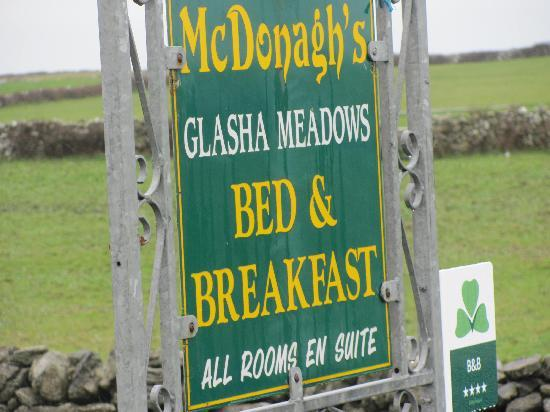 Welcome Sign for Glasha Meadows
