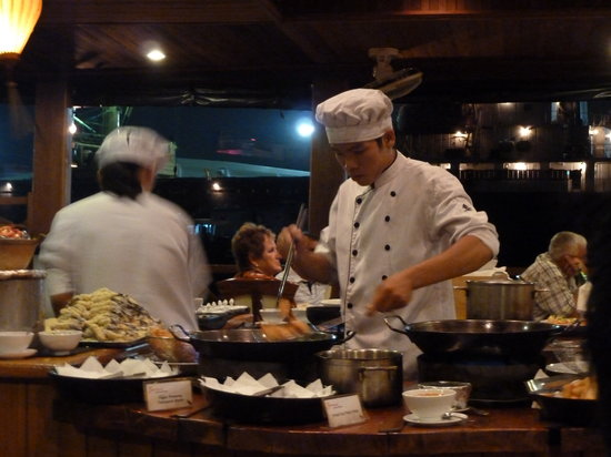 Bonsai River Cruise - Dinner Cruise : Cooked right in front of you!!