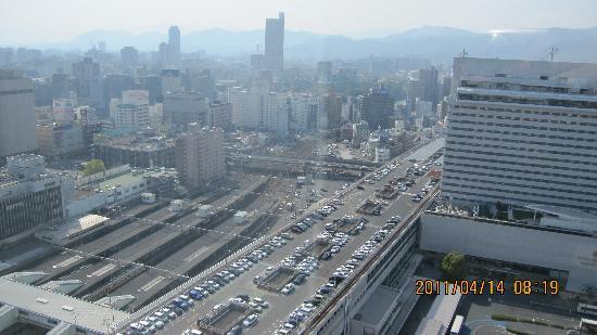 Sheraton Grand Hotel Hiroshima : 21階からの眺望
