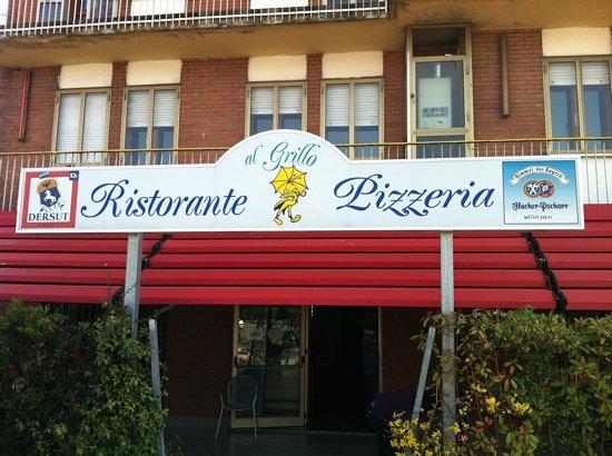 Pizzeria Ristorante Al Grillo: Pizzeria al