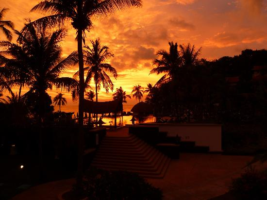 Rawi Warin Resort & Spa: the beautiful sunset