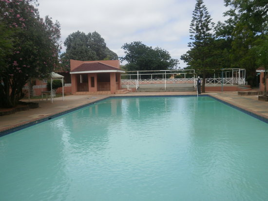 Oasis Motel: Big pool