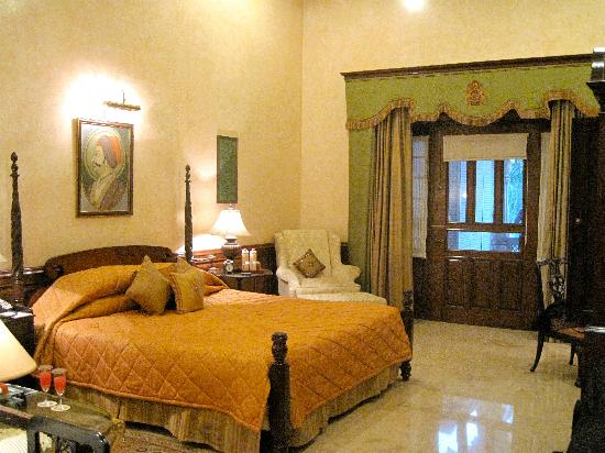 Rambagh Palace: Our room
