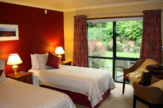 Wanaka Springs Lodge : Ruby Island King Room split to Twin