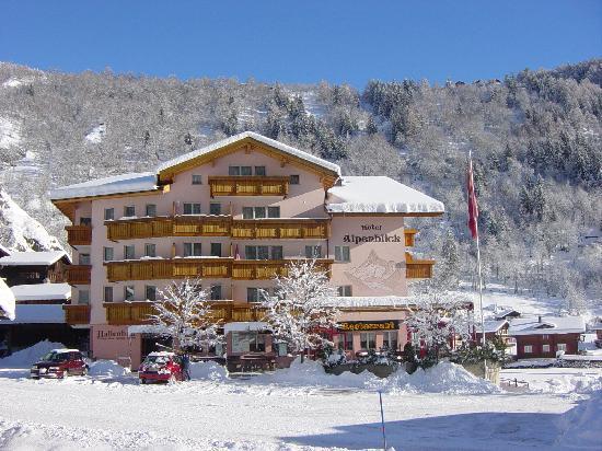 Hotel Alpenblick: Hotelansicht Winter