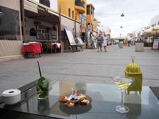 Las Tap.ita.s: martini + mojito + pincho