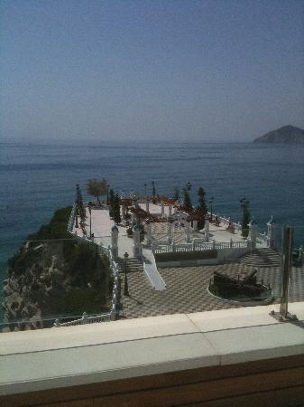 Villa Venecia Hotel Boutique: View from the pool terrace