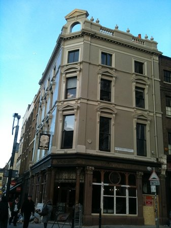 The Ten Bells : newly painted