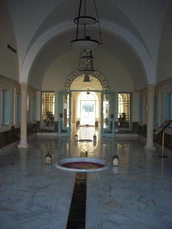 Vincci Flora Park: the hotel lobby