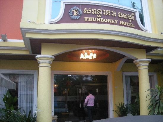 Thunborey Hotel: Hotel front