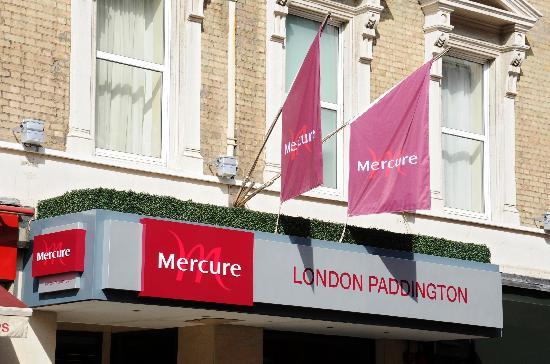 Mercure London Paddington Hotel: signage