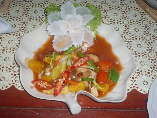 Khaolak Orchid Beach Resort: Food Presentation