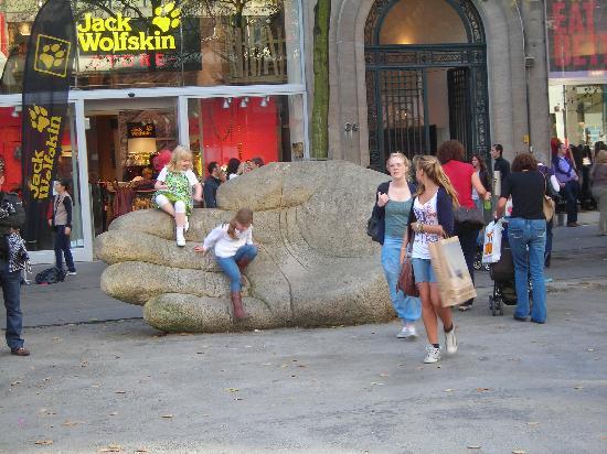 Antwerpen, België: Il simbolo di Anversa