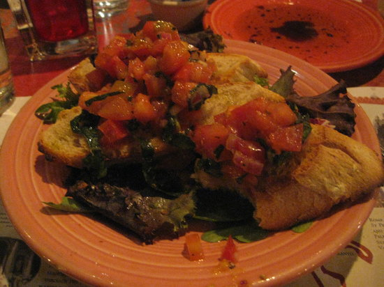 Viva Pizza: bruschetta