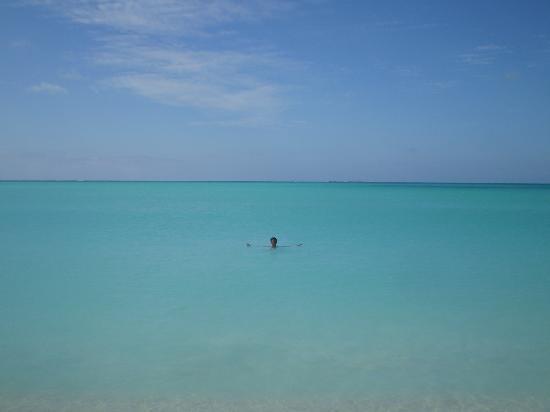 Cayo Largo, Cuba: El mar caribe