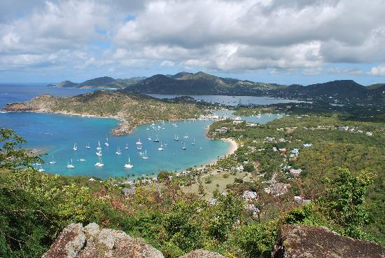 St. John's, Antigua: English Harbor