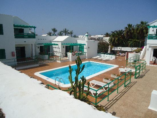 Las Palmeras : The pool area