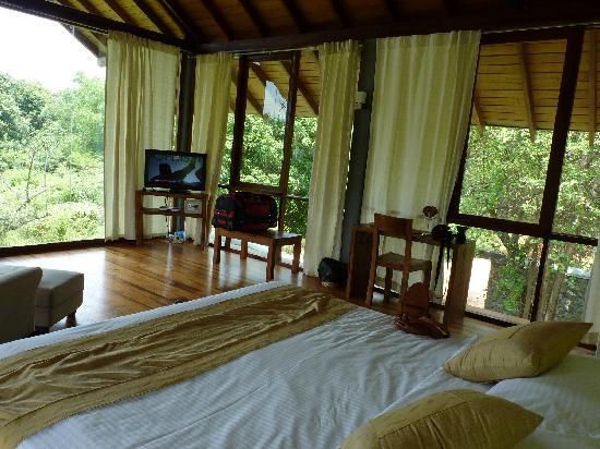 Wild Grass Nature Resort: view from bed