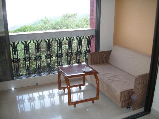 Fountain Hotel: Balcony