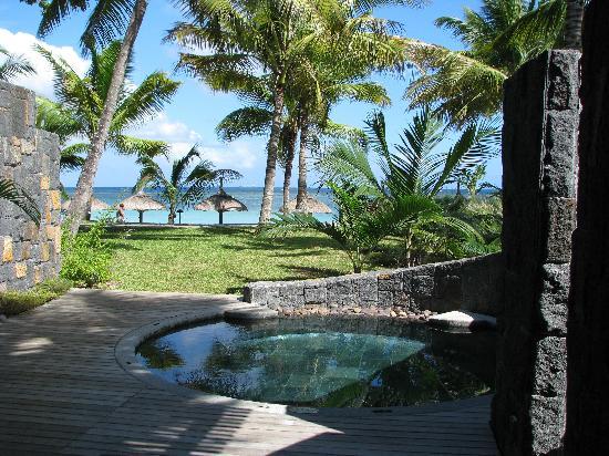 Trou aux Biches Beachcomber Golf Resort & Spa: suite vue sur la mer