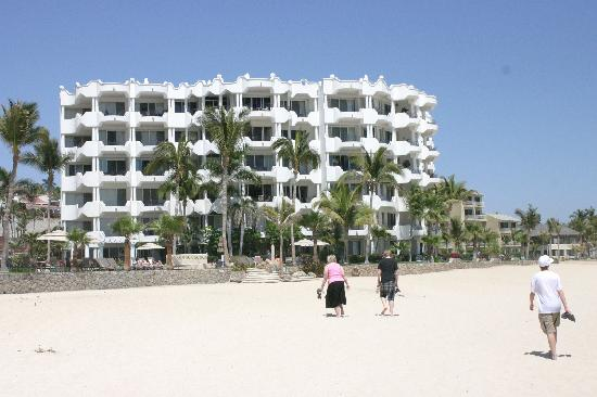 Mykonos Condos: Building C from the beach