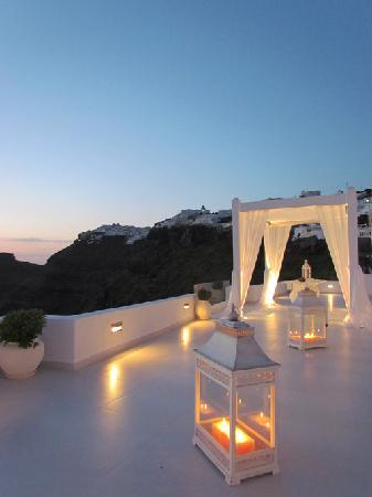 Dana Villas wedding terrace