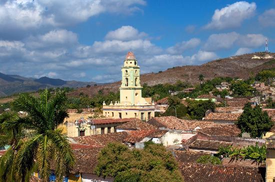 Trinidad, Cuba: Vue panoramique
