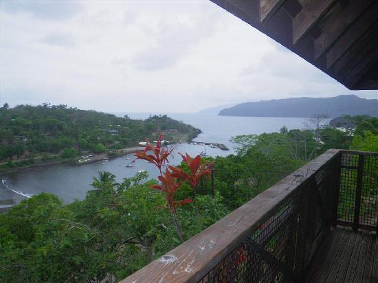 Pension Kanahau : Vue du balcon