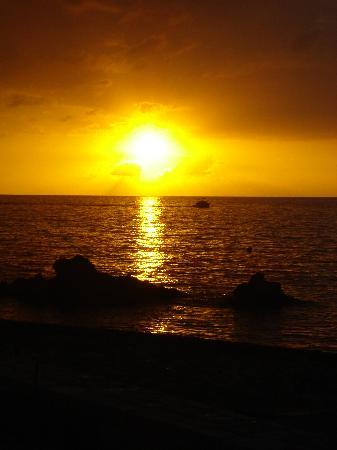 The SPA Retreat Boutique Hotel: The Famous Negril Sunset (Our Retreat Suite View)