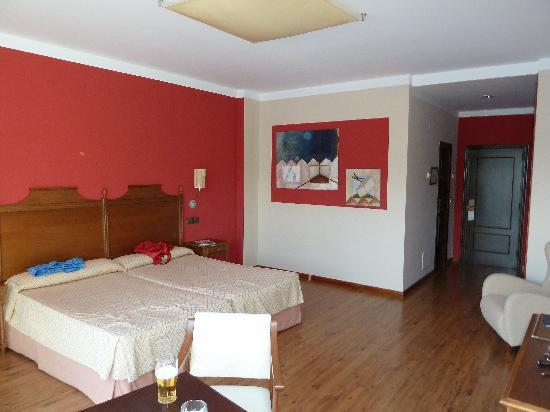 La Cepada Hotel: Bedroom