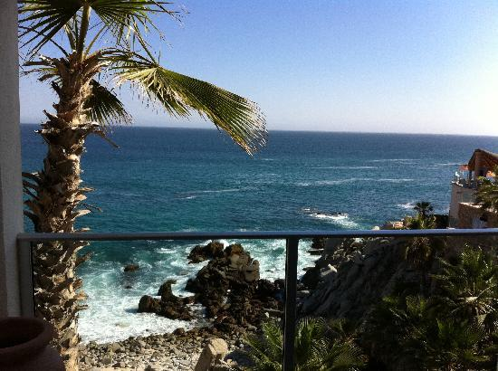 Welk Resorts Sirena Del Mar: The view from our ocean-front suite.