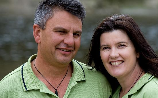 Spirit of the River Jet - Whanganui River: Brent and Claire - your hosts