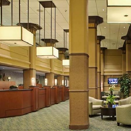 The Sofia Hotel: Hotel lobby