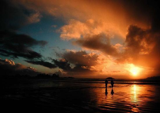 Chesterman Beach: Sunset After A Storm