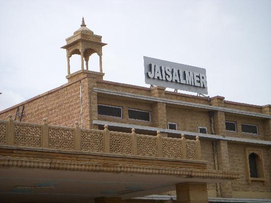 Jaisalmer, India: สถานีรถไฟไจซาลเมอร์