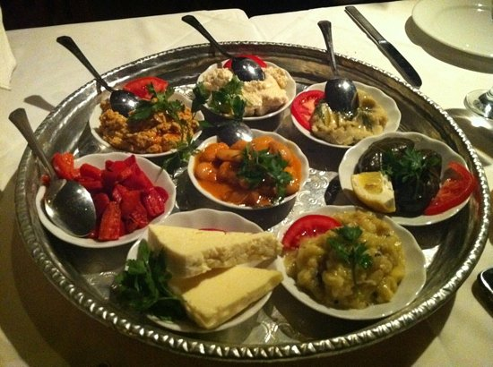Armada Terrace Restaurant: Traditionel starters for 2 people