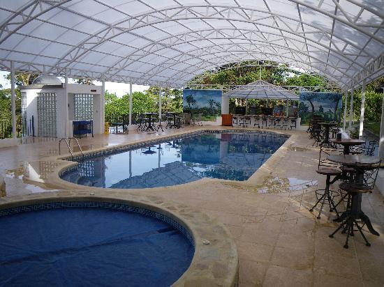 Hotel Fonda Vela: Pool area
